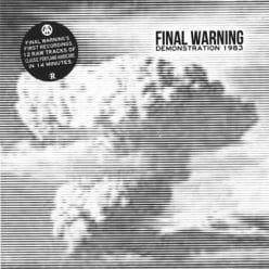 Final Warning - Demonstration 1983